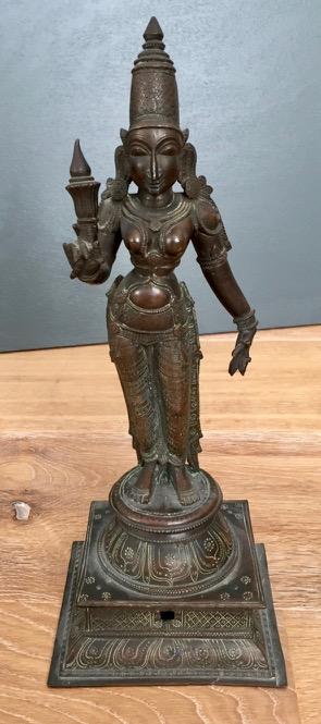 Bronze Sculpture Of The Goddess Parvati