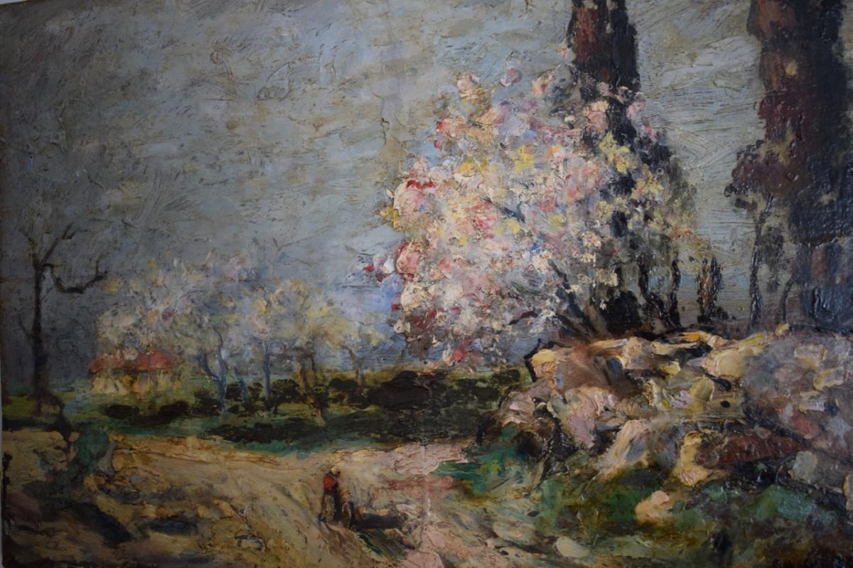 Gabriel Breuil Painting