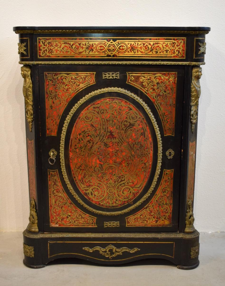 Furniture D Support Boulle Marquetry