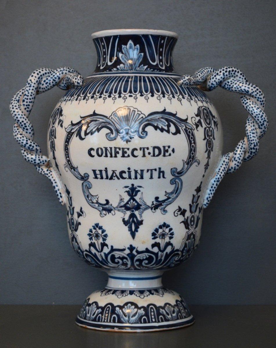 Pot A Pharmacy In Faience XIX Eme Century