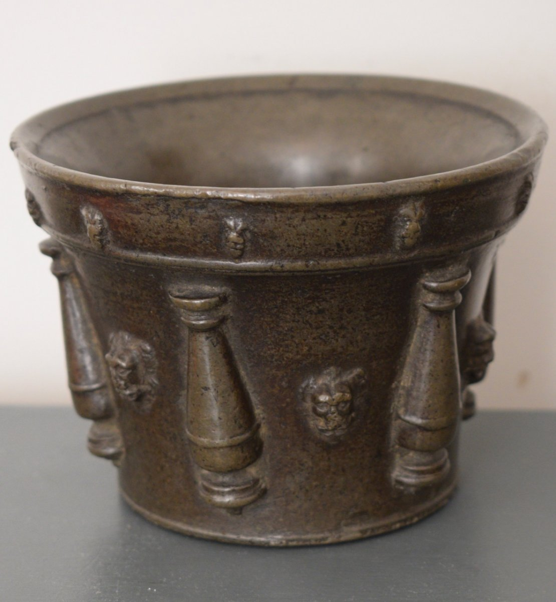 Bronze Mortar End Of XVI Eme Century