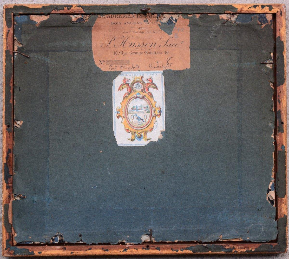 Aquarelle d'Adophe Rouargue (1810-1870)-photo-3