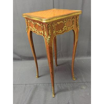 Petite Table De Salon Estampillée De Kremer A Paris