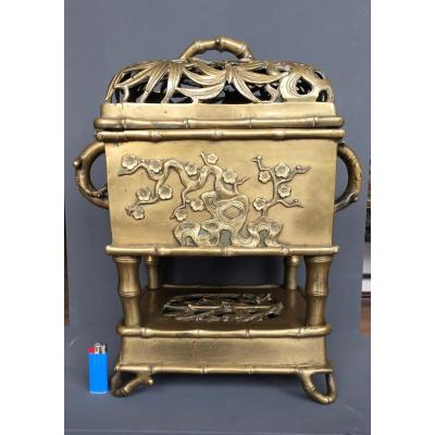 Important Brule Perfume In Bronze China XVII Eme Century