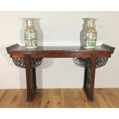 China Console XIX Natural Wood Era