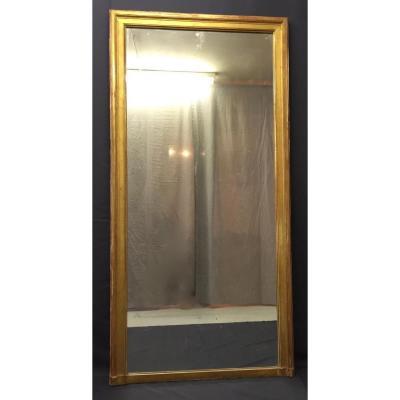 Miroir De Cheminée D époque Louis XVI En Bois Doré