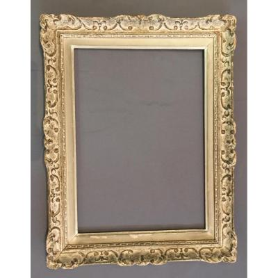 Montparnasse Frame Carved And Patinated Wood