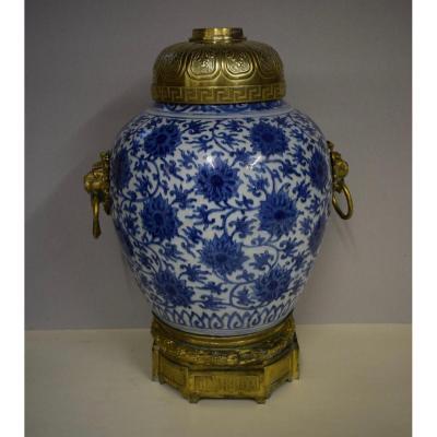Jarre Montée Bronze époque Ming