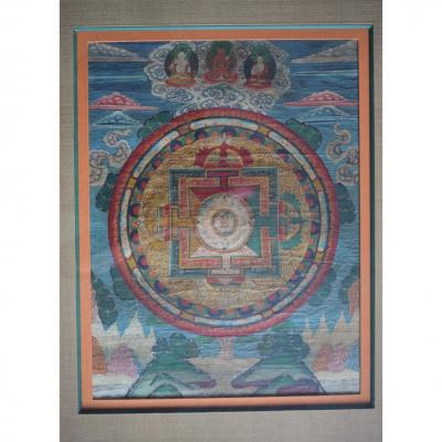 Tangka Tibet 19 Eme