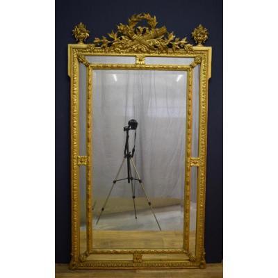 Miroir De Style Louis XVI A Pare Closes