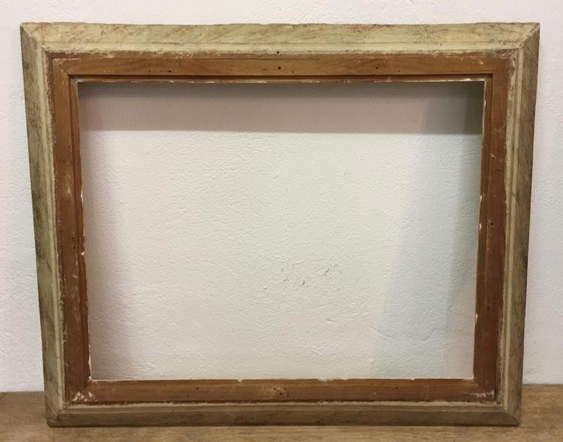 Montparnasse Frame Carved And Patinated Wood-photo-2