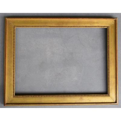 Cadre De Style Louis XVI Zn Bois Doré