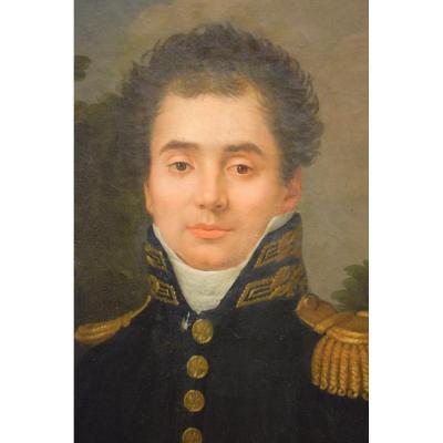 Portrait D Un Jeune Officier De L Empire