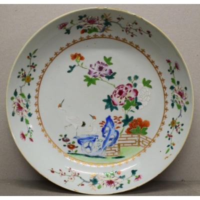 Plate India Company India 18 Eme Century