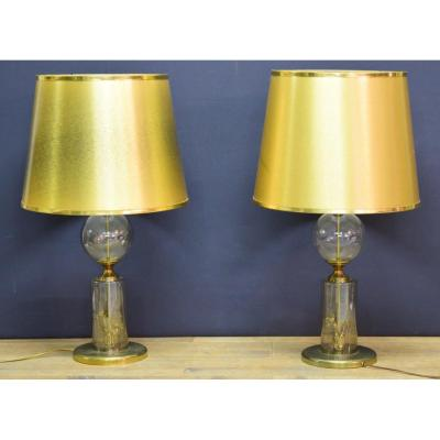 Pair Of Lamps 70s