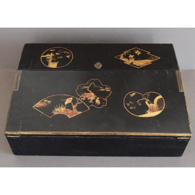 Japanese Lacquer Writing Case
