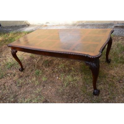 Table De Style Chippendale En Acajou