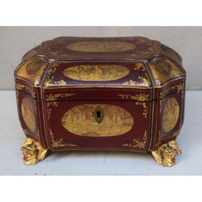 China Lacquered Tea Box