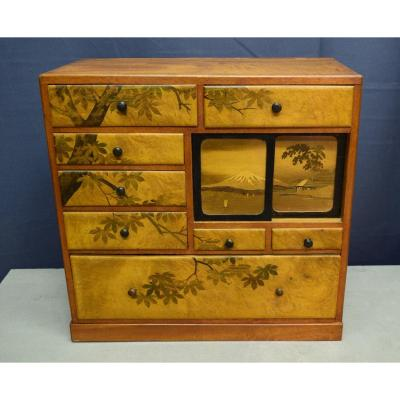 Small Cabinet Japan Meiji Period