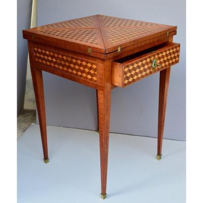 Louis XVI Style Games Table