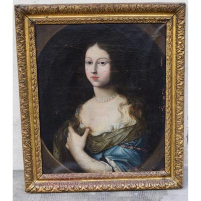 Portrait De Jeune Femme XVII Eme