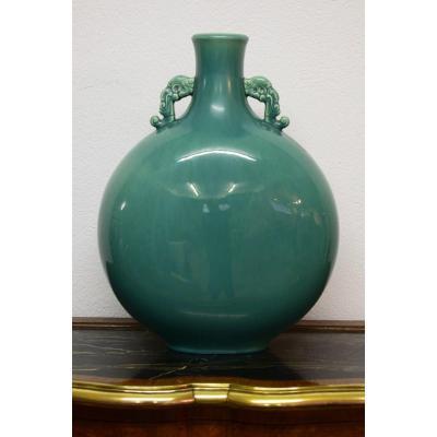 Sevres Vase En Forme De Gourde