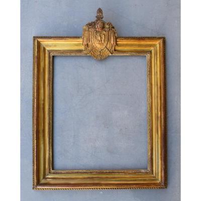 Louis XVI Period Frame In Golden Wood