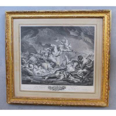 Engraving XVIII Eme By Francois Boucher
