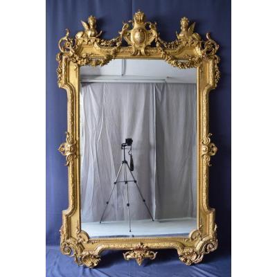 Important Regence Style Mirror