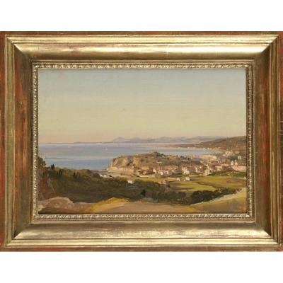 Ippolito Caffi (Belluno, 16 ottobre 1809 – Lissa, 20 luglio 1866), Vue de Nice