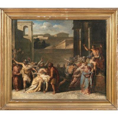 Vincenzo Camuccini (1771 - 1844), La Mort De Virginia
