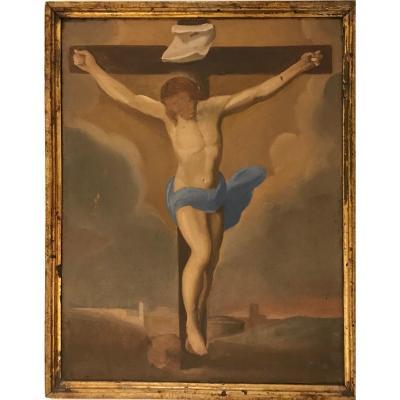 Ècole Italienne Du XIX Siècle, Christ Crucifié