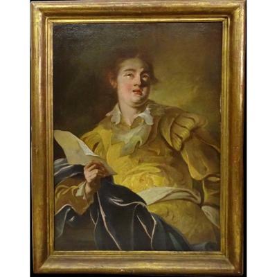 18th Century French School, Fantasy Figure