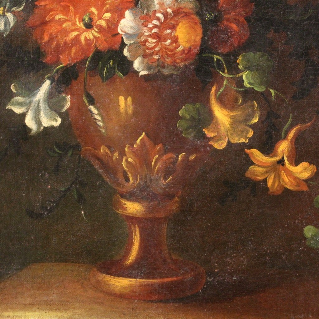 Ancient Still Life From The 18th Century-photo-2