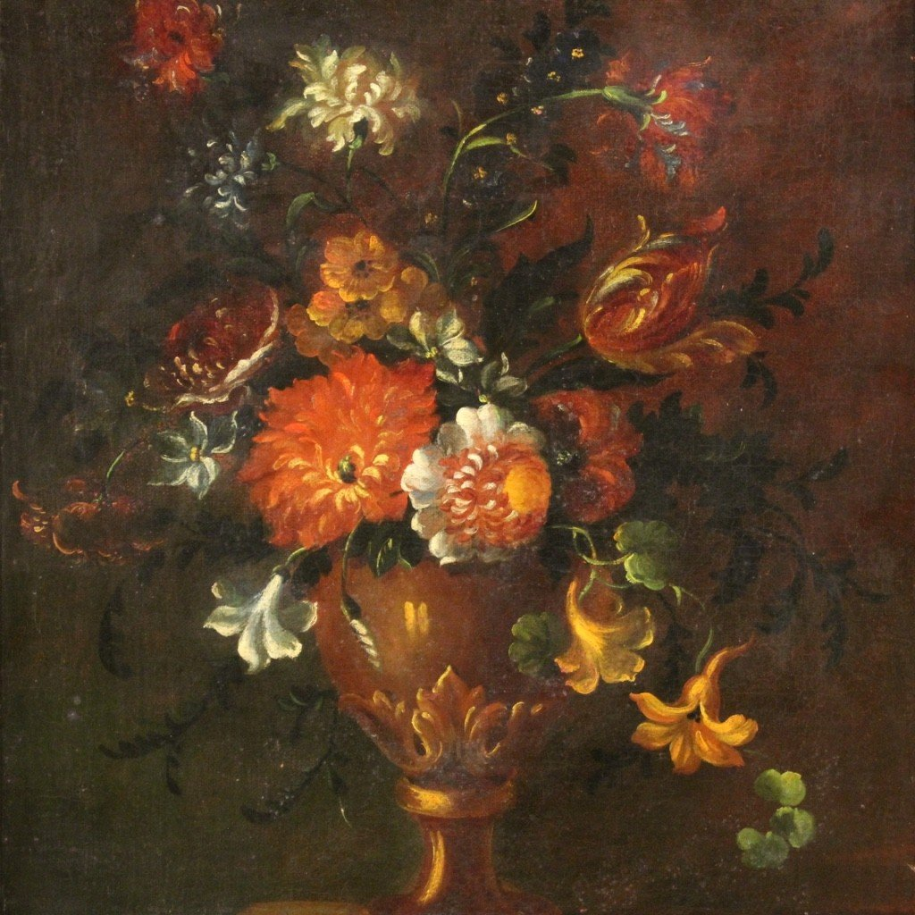 Ancient Still Life From The 18th Century