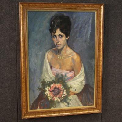 Painting Portrait Of A Lady