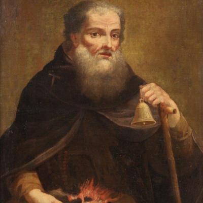 Saint Antoine Abbé Du 18ème Siècle