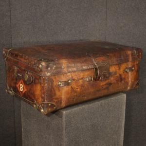 English Leather Suitcase F. Best & Co.