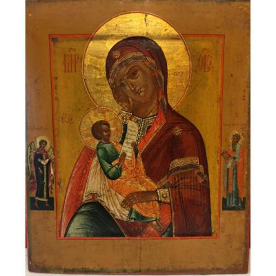 Russian Icon Virgin Of Consolation