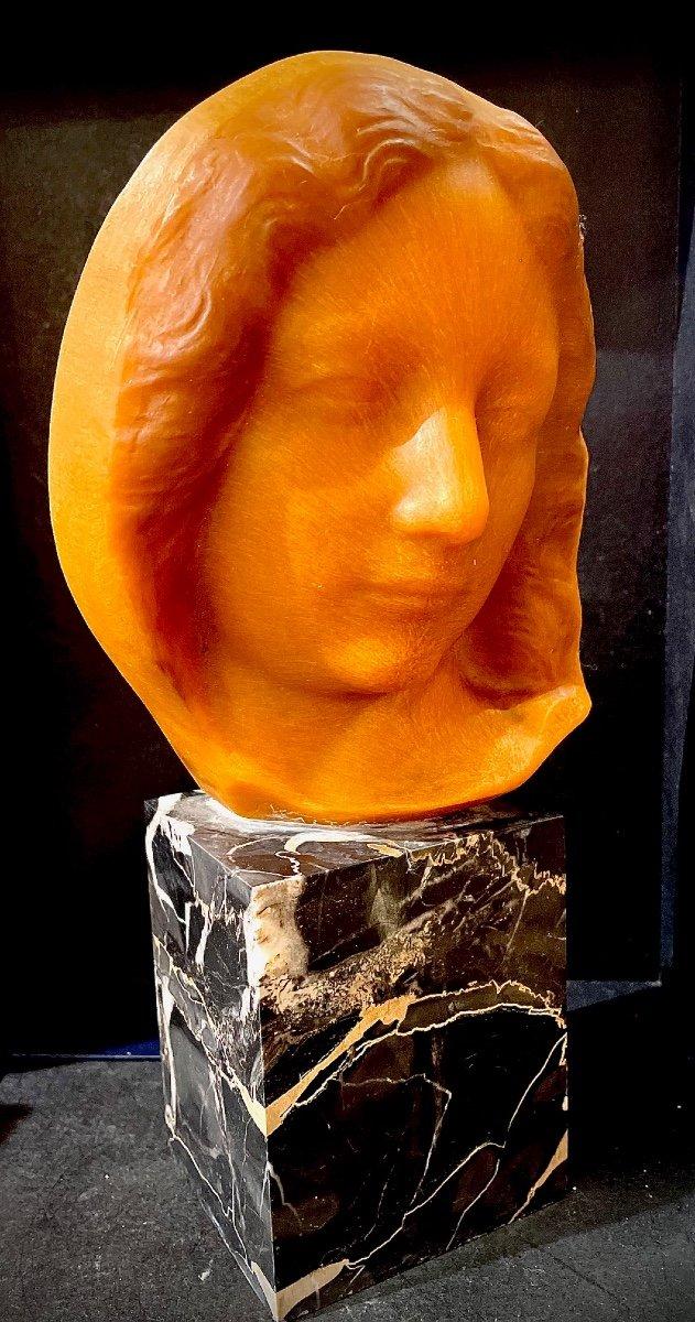 Buste En Pate De Verre De Walter -photo-2