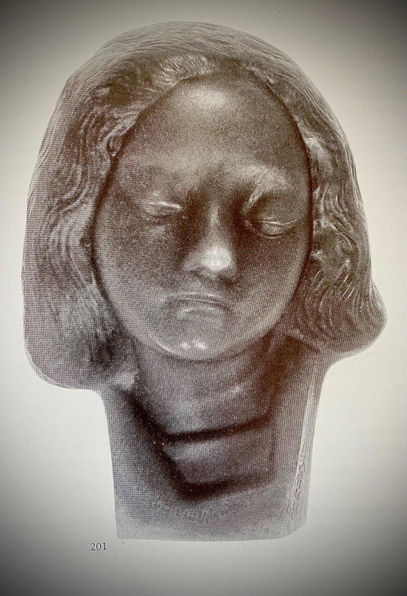 Buste En Pate De Verre De Walter -photo-3