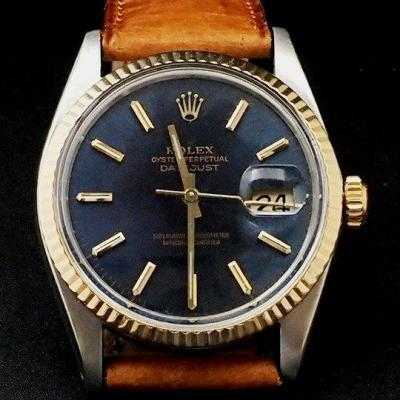 Rolex Oyster Perpetual Datejust Gold / Steel Ref. 16013 -1982-