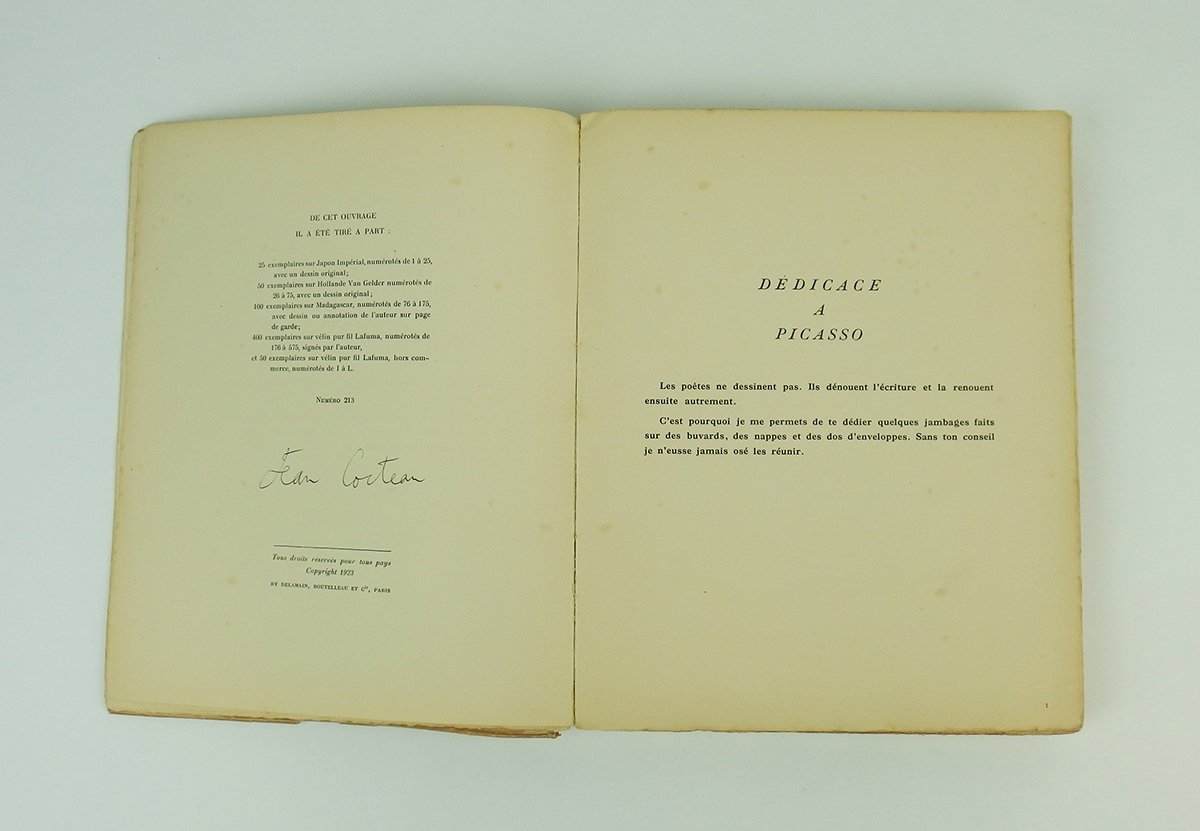 Dessins par Livre par  Jean Cocteau-photo-4
