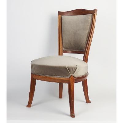 Chaise Art Nouveau Attribuée à Tony Selmersheim