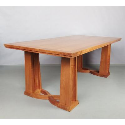Dining Table In Cherry Wood 1940