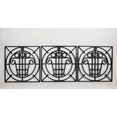 Five Art Deco Garden Fences.