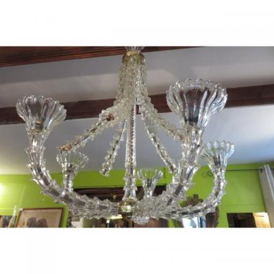 LUSTRE MURANO BAROVIER TOSO VENISE ANNEES 40