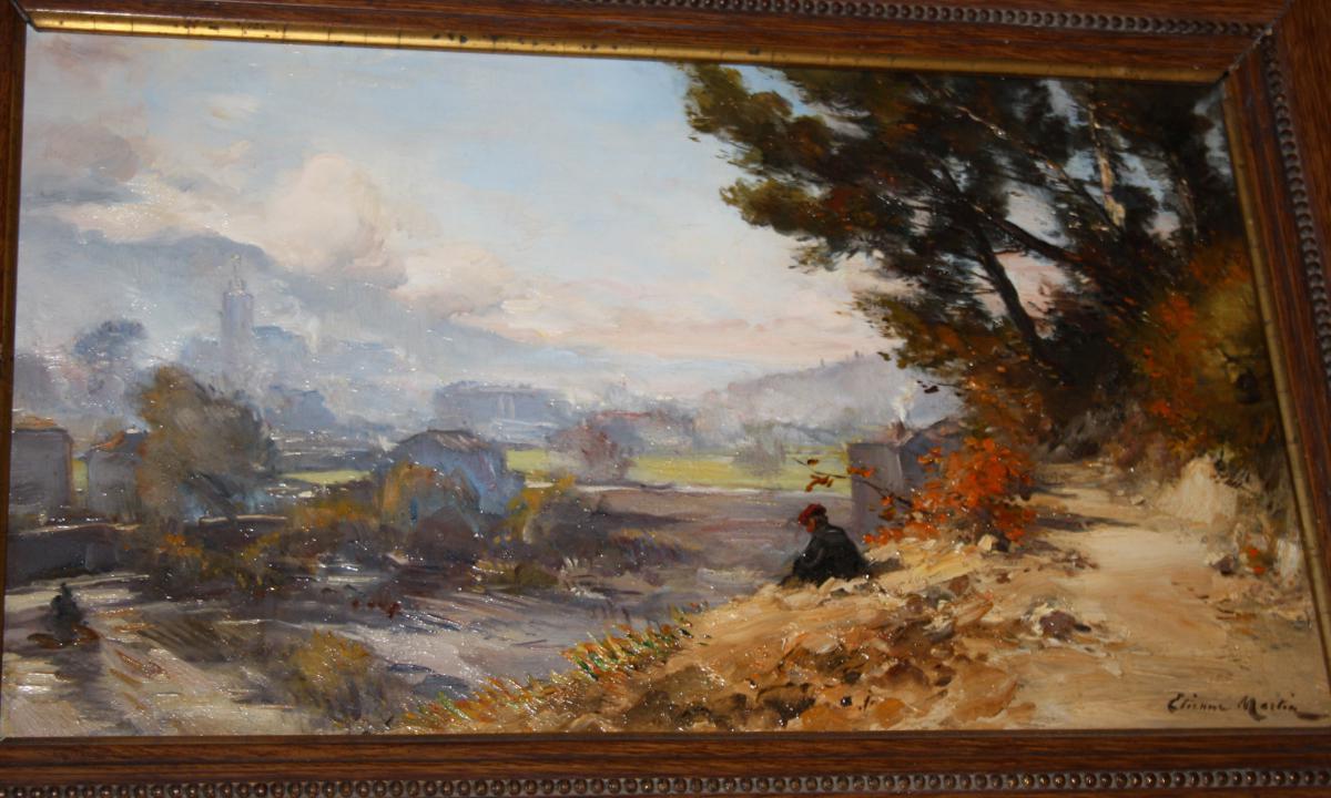 Etienne Philippe Martin (1856+1945) Digne Les Bains 1900