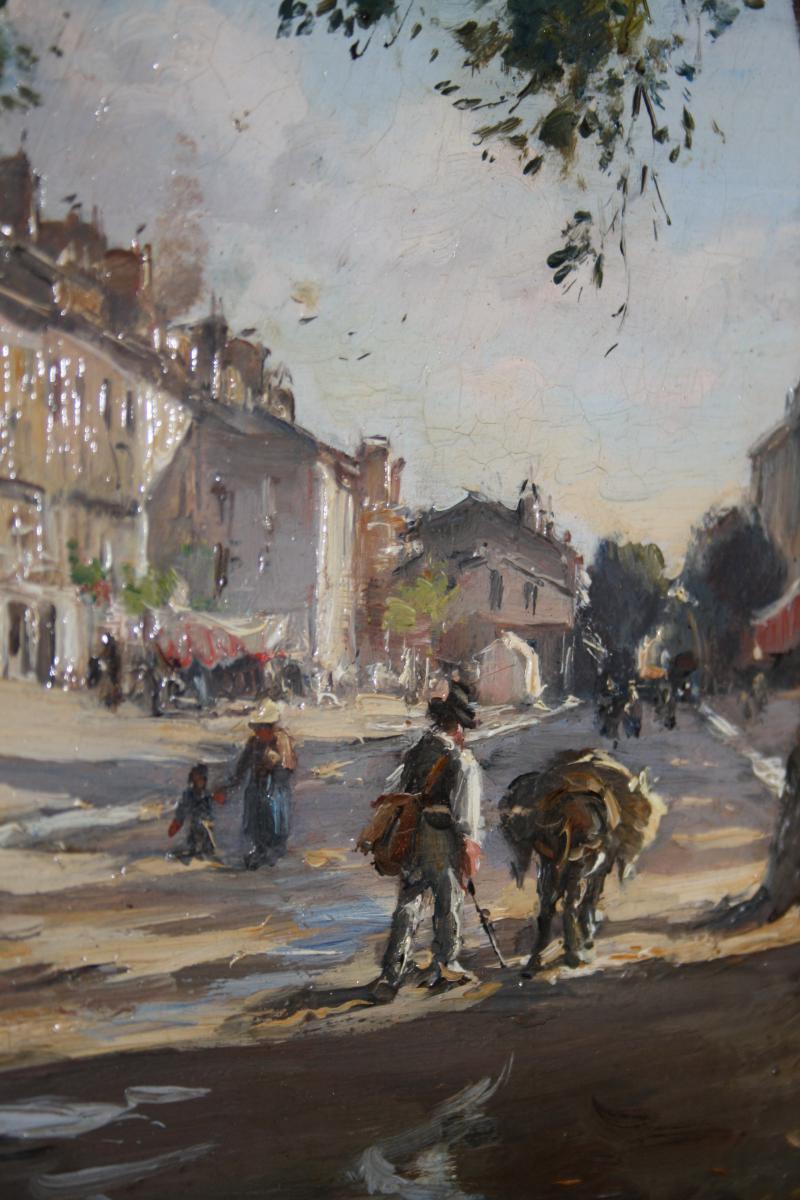Etienne Philippe Martin (1856+1945) Bd Et Place Gassendi Digne