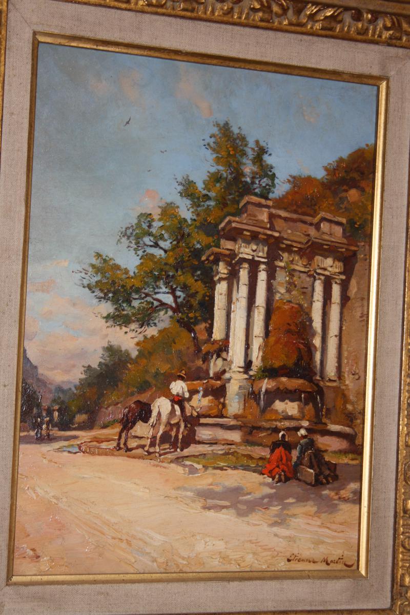 Etienne Philippe Martin (1856+1945) La Grande Fontaine